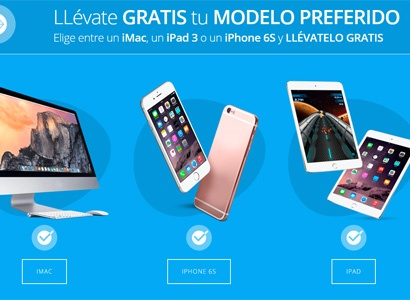 Imac, Iphone 6 o Ipad 3