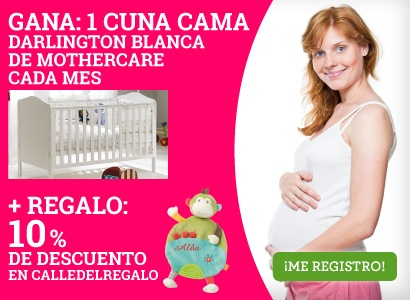 Cuna Darlington Blanca de Mothercare