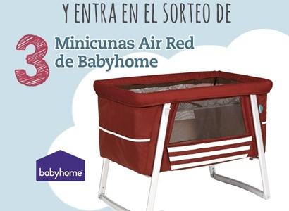 3 minicunas Air Red de Baby Home