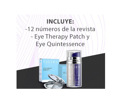 Suscripción anual ELLE + Eye Therapy Patch y Eye Quintessence