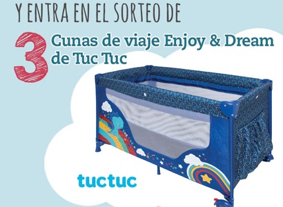 3 cunas de viaje Enjoy and Dream de Tuc Tuc