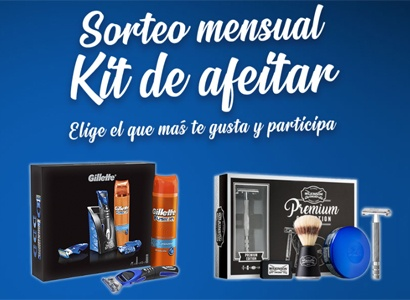 Kit de afeitar