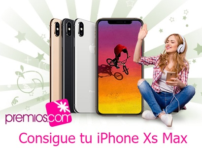Sorteo de un iPhone Xs Max