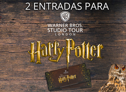 2 entradas para los estudios Warner Bros Studio Tour London