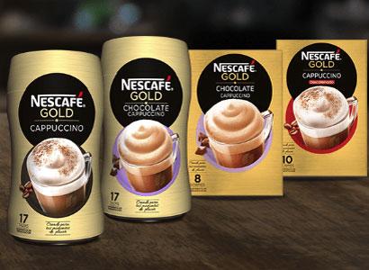 Reembolso de tu compra de cualquier producto Nescafé Gold Cappuccino