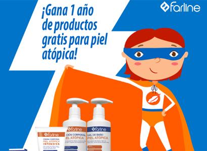 10 Lotes de productos Farline para piel Atópica
