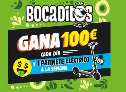 Puedes ganar 100€ y un patinete eléctrico