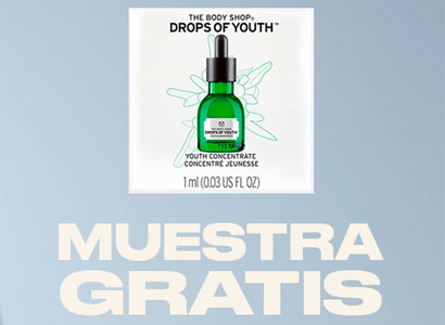 Muestras de Concentrado de Juventud Drops of Youth
